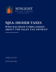 Who has been complaining about the sales tax anyway?